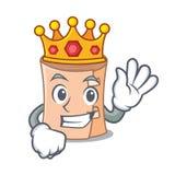 Królewiątko gazy maskotki medyczna kreskówka ilustracja wektor