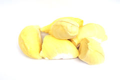 Królewiątko owoc, durian na białym tle Obrazy Royalty Free