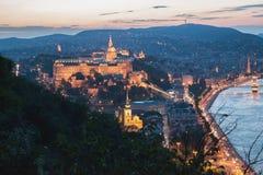 Królewiątko pałac w Budapest Zdjęcia Royalty Free
