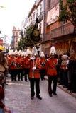 królewiątko parada Seville Spain trzy Fotografia Stock