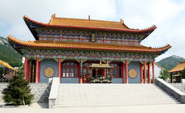 Chińska religijna architektura Zdjęcie Royalty Free