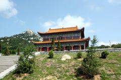 Chińska religijna architektura Obrazy Royalty Free