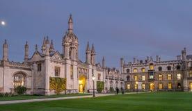 Królewiątko szkoła wyższa Cambridge Obrazy Stock