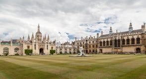Królewiątko szkoła wyższa Cambridge Anglia Zdjęcie Stock