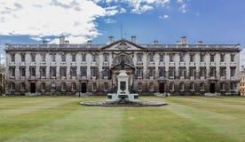 Królewiątko szkoła wyższa Cambridge Anglia Fotografia Royalty Free