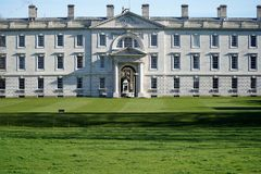 Królewiątko szkoła wyższa, Cambridge, Anglia Zdjęcia Royalty Free