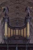 Królewiątko szkoły wyższa kaplica Cambridge Anglia Fotografia Royalty Free