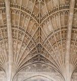 Królewiątko szkoły wyższa kaplica Cambridge Anglia Obrazy Stock