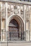Królewiątko szkoły wyższa kaplicy uniwersytet w cambridge Anglia Fotografia Royalty Free