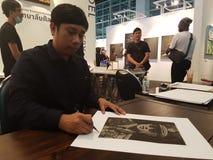 Królewiątko Tajlandia Rama IX uznanie obraz stock