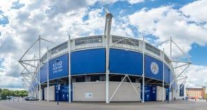 Królewiątko władzy stadium przy Leicester miastem, Anglia Zdjęcie Stock