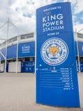 Królewiątko władzy stadium przy Leicester miastem, Anglia Fotografia Stock