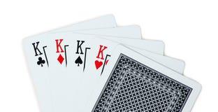 Królewiątek karta do gry grzebak Zdjęcia Royalty Free