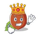 Królewiątka hazelnut maskotki kreskówki styl Obrazy Royalty Free