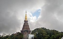 Królewiątka i królowej pagoda Fotografia Royalty Free