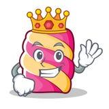 Królewiątka marshmallow charakteru kreskówki styl Fotografia Royalty Free