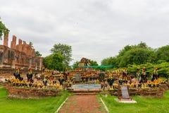 Królewiątka Naresuan zabytek Zdjęcia Stock