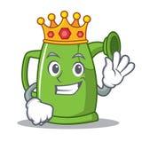 Królewiątka podlewania puszki charakteru kreskówka Zdjęcia Stock