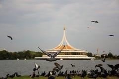 Królewiątka Rama IX park Obrazy Royalty Free