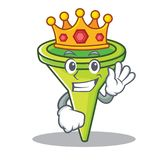 Królewiątko charakteru kreskówki tulejowy styl Fotografia Royalty Free