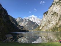 Królewiątko jeziora widok Zdjęcie Royalty Free