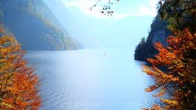 Królewiątko jezioro w Berchtesgaden parku narodowym Fotografia Stock