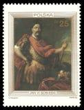 Królewiątko John III Sobieski Jerzy Szymanowicz Siemiginowski Zdjęcia Stock