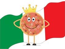 Królewiątko pizza Zdjęcia Stock