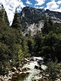 Królewiątko rzeka, królewiątko jar, Kalifornia obrazy stock