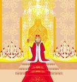 Królewiątko w sala Fotografia Stock