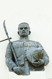 KRÓLEWIĄTKO wojownika statua Zdjęcia Royalty Free