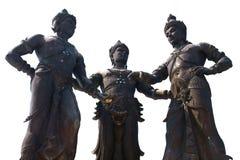 królewiątko zabytek trzy Zdjęcia Royalty Free