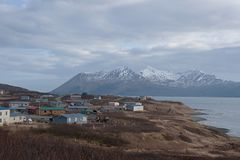 Królewiątko zatoczka Alaska Obraz Royalty Free