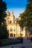 Królewscy budynki Zdjęcie Royalty Free