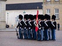 królewscy duńscy strażnicy Obrazy Royalty Free