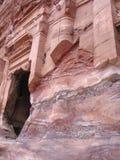 Królewscy grobowowie w Petra obraz royalty free