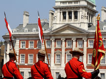 Królewscy Kanadyjscy Mounties Zdjęcia Royalty Free