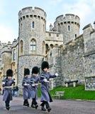 Królewscy strażnicy - Windsor Zdjęcia Royalty Free