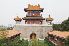 Królewska świątynia, zachodnia pięć yunju świątynia w Xian Obrazy Stock