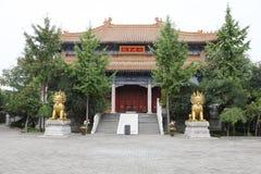 Królewska świątynia, zachodnia pięć yunju świątynia w Xian Obraz Stock