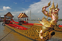 Królewska barka Tajlandia Zdjęcie Royalty Free