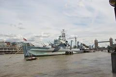 Królewska Brytyjska marynarka wojenna w Londyn Fotografia Royalty Free
