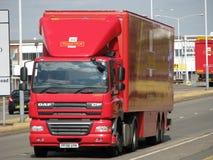 królewska ciężarówki poczta Fotografia Royalty Free