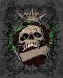królewska czaszka Zdjęcie Royalty Free