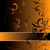 królewska dekoracji pomarańcze Zdjęcie Royalty Free