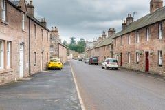 Królewska Glamis wioska Szkocja Obrazy Royalty Free