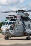 Królewska marynarki wojennej floty Lotnicza ręka Westland Sea King ASaC 7 wczesnego ostrzeżenia i kontrola powietrzny helikopter  zdjęcie stock