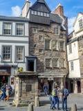 Królewska mila w Edynburg Obrazy Royalty Free