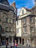 Królewska mila w Edynburg Zdjęcie Stock