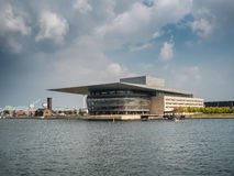 Królewska opera w Kopenhaga, Dani Obraz Stock